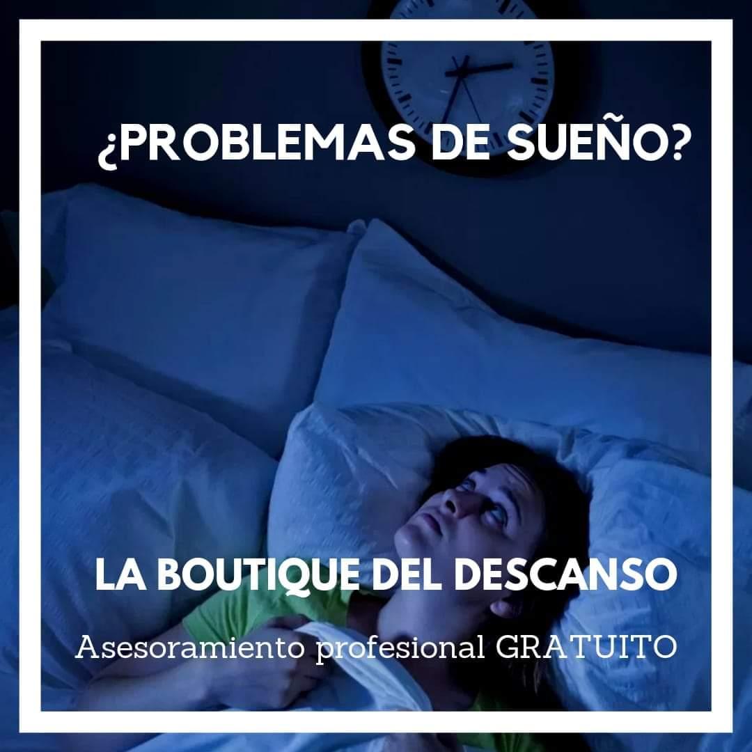 cómo dormir bien, la boutique del descanso, insomnio